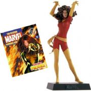 Classic Marvel Figurine Collection #011 Jean Grey Red Dark Phoenix Variant Eaglemoss Publications
